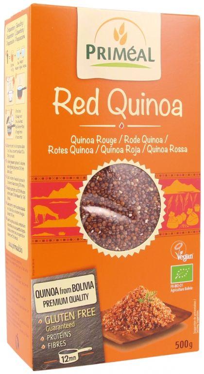 Rode quinoa real 500gr Priméal