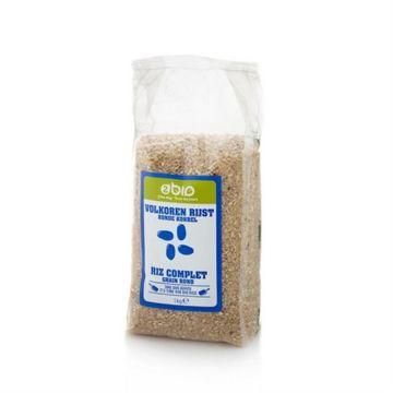 Ronde volle rijst 1kg 2BIO