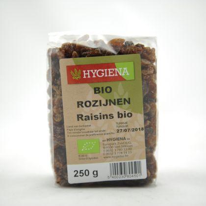 Rozijnen 250gr Hygiena