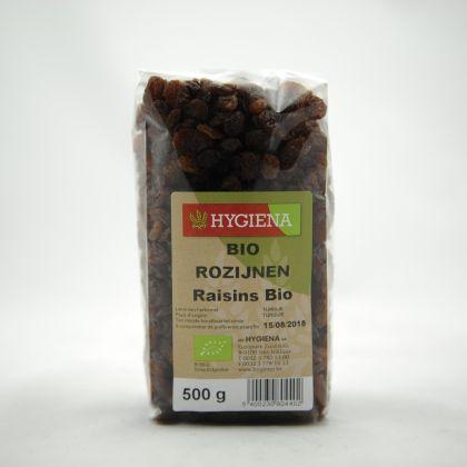 Rozijnen 500gr Hygiena