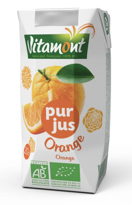Sinaasappelsap 20cl Vitamont