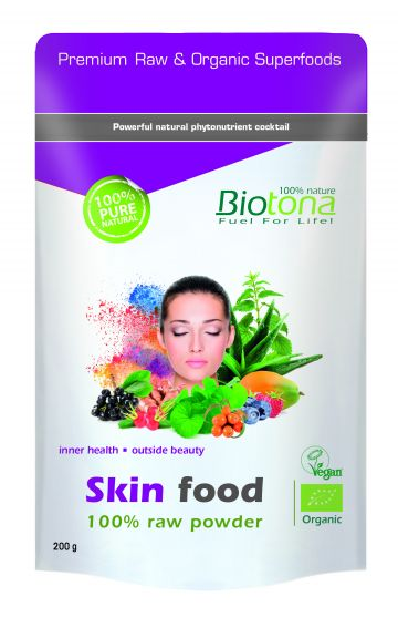 Skin food raw powder 200gr Biotona
