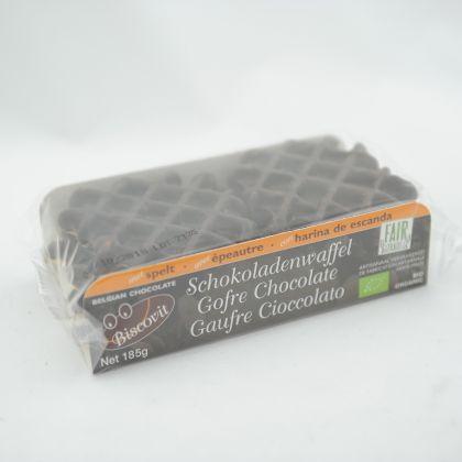 Speltwafels chocolade 185gr BV