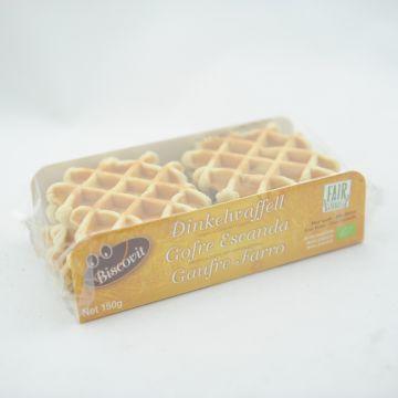 Speltwafels vanille 150gr BV