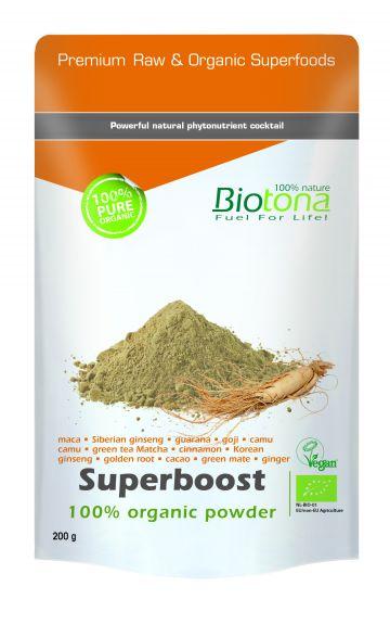 Superboost organic powder 200gr Biotona