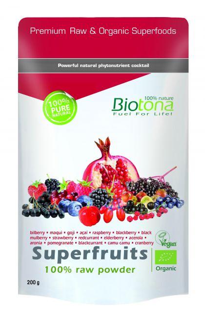 Superfruits raw powder 200gr Biotona