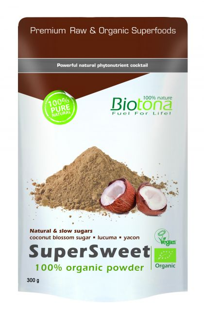 SuperSweet organic powder 300gr Biotona