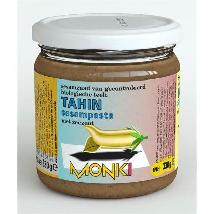 Tahinpasta met zout 330gr Monki