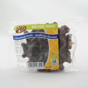 Vanillewafels chocolade 60gr/2st BV