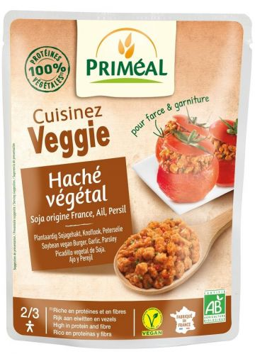 Vegetarisch gehakt look en peters. 250gr Primeal