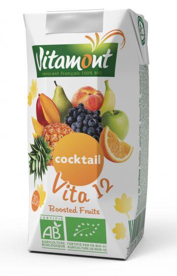 Vita 12 exot. vruchtensap 20cl Vitamont