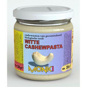 Witte cashewpasta 330gr Monki