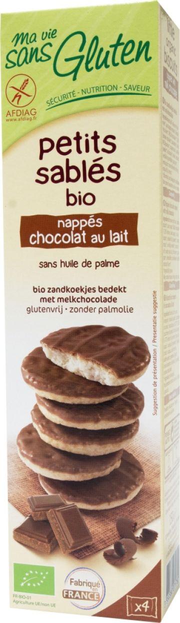 Zandkoekjes melkchocolade 150gr MVSG