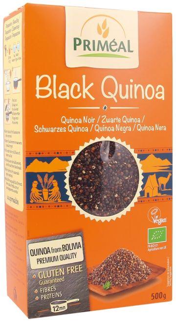 Zwarte quinoa real 500gr Priméal